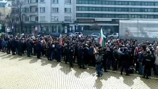 bulgaristanda protestolar hukumet dusurdu
