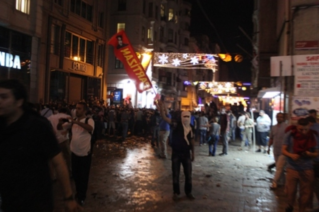partizan taksim gezi