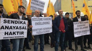 Photo of DERİTEKS CPS Automotive önünde TİS'teki anlaşmazlığı protesto etti