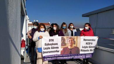 """Photo of """"Kadın mücadelesini yükselteceğiz, Leyla yoldaşa sözümüz olsun"""""""