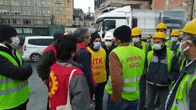 Photo of Galataport şantiyesinde iş bırakma eylemi